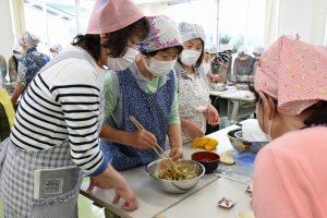にいがた岩船 女性部荒川支部 料理講習会