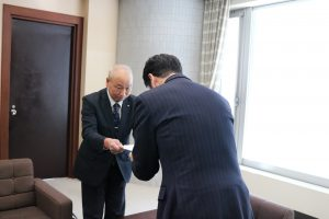 新潟市 知事へ要望