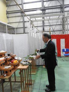 ひすい 営農生活センター竣工式