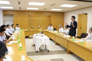 新潟市 市長と若手農業者意見交換会