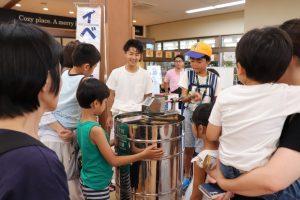 新潟市 キラキラマーケットはちみつ教室
