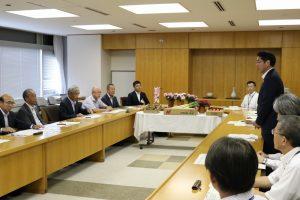 新潟市 市長と農政懇談会